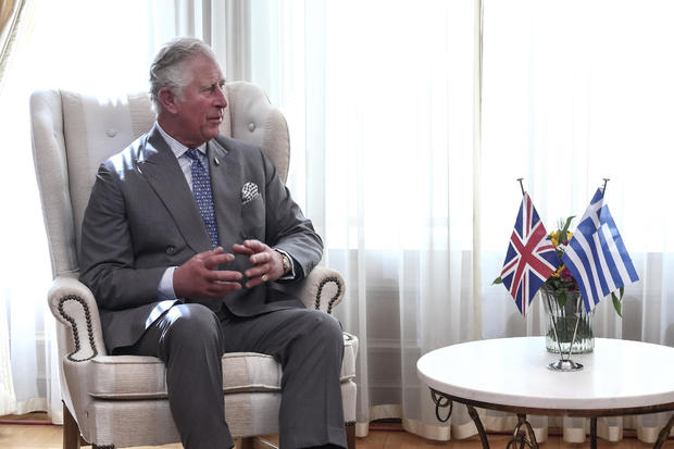 GREECE-BRITAIN-ROYALS-POLITICS-DIPLOMACY