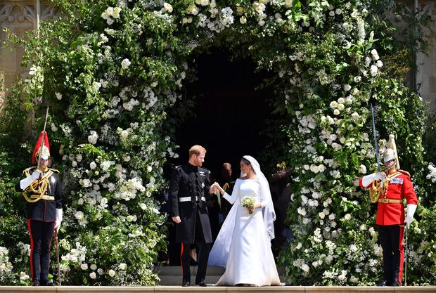 Prince Harry and Meghan Markle's royal wedding
