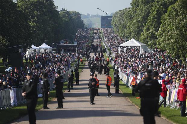 Prince Harry Marries Ms. Meghan Markle - Atmosphere