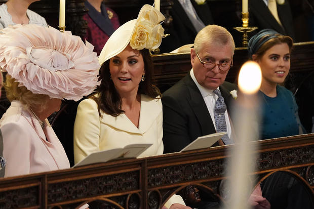 88eb3a02 Duchess Kate - Hats and fascinators: Style at the royal wedding 2018 -  Pictures - CBS News