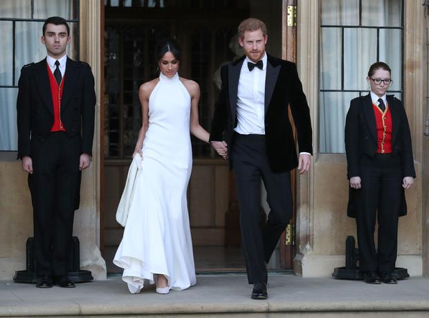 Princess Stephanie Royal Wedding Gowns Pictures Cbs News