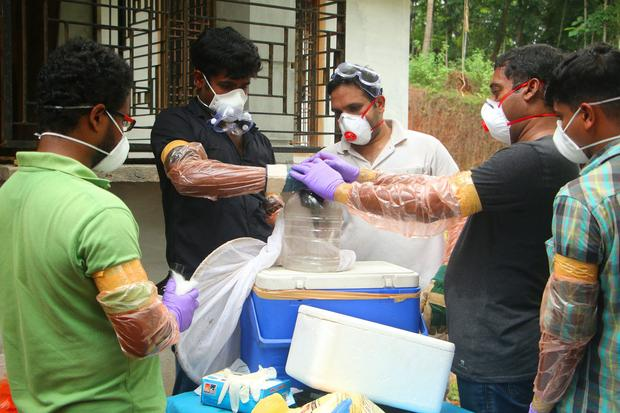 INDIA-HEALTH-DISEASE-NIPAH