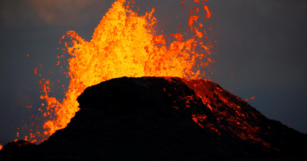 Volcano Eruption Big Island