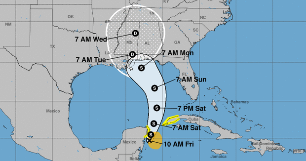 Memorial Day Weekend tropical system likely, flooding main impact