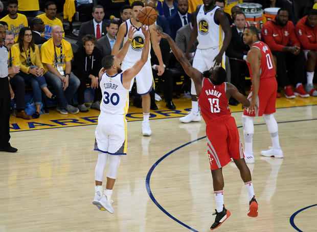 Houston Rockets v Golden State Warriors - Game Three