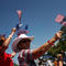 Local residents take part in the Memorial Day Parade in Bandera, Texas,