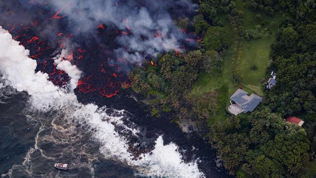 Kilauea lower east rift zone eruption