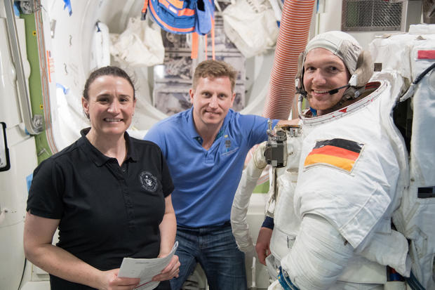 Astronauts prepare to leave International Space Station after 2,600 orbits