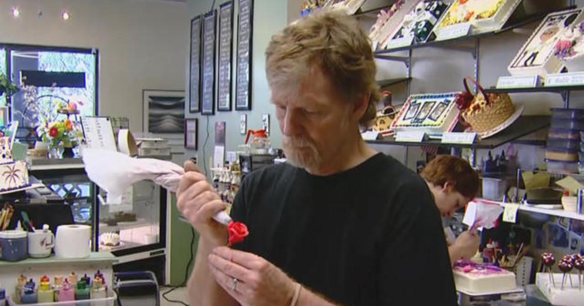 a956dd4a67 Same sex wedding cake case  Supreme court sides with Masterpiece Cakeshop  today in 7-2 limited ruling - CBS News