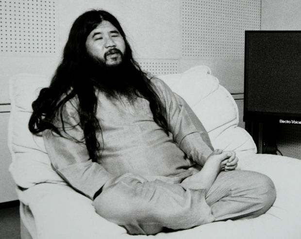 Former leader of the Aum Shinrikyo,  Shoko Asahara, real name Chizuo Matsumoto is found guilty, he will receive a death penalty.