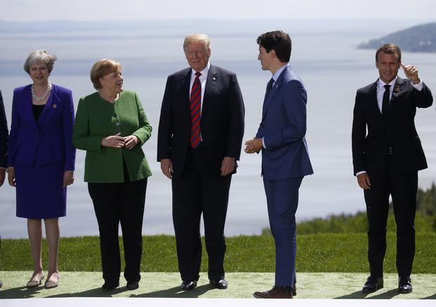 ARCTIC BLAST: Trump SLAMS Canada's Trudeau Over G7 Comments