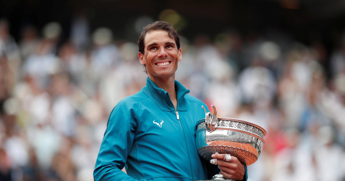 Rafael Nadal Wins 11th French Open Title Beating Dominic Thiem In 3 Sets Cbs News