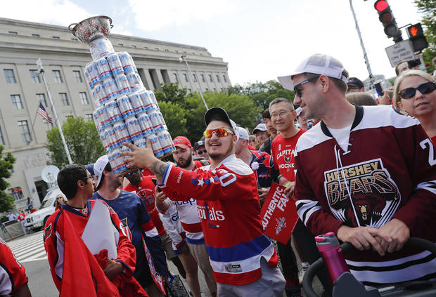 Capitals Stanley Cup Celebration Hockey
