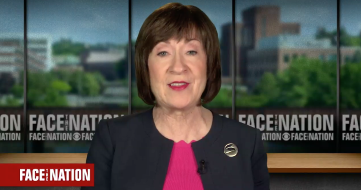 "Sen. Susan Collins on ""Face the Nation"": Separating ..."