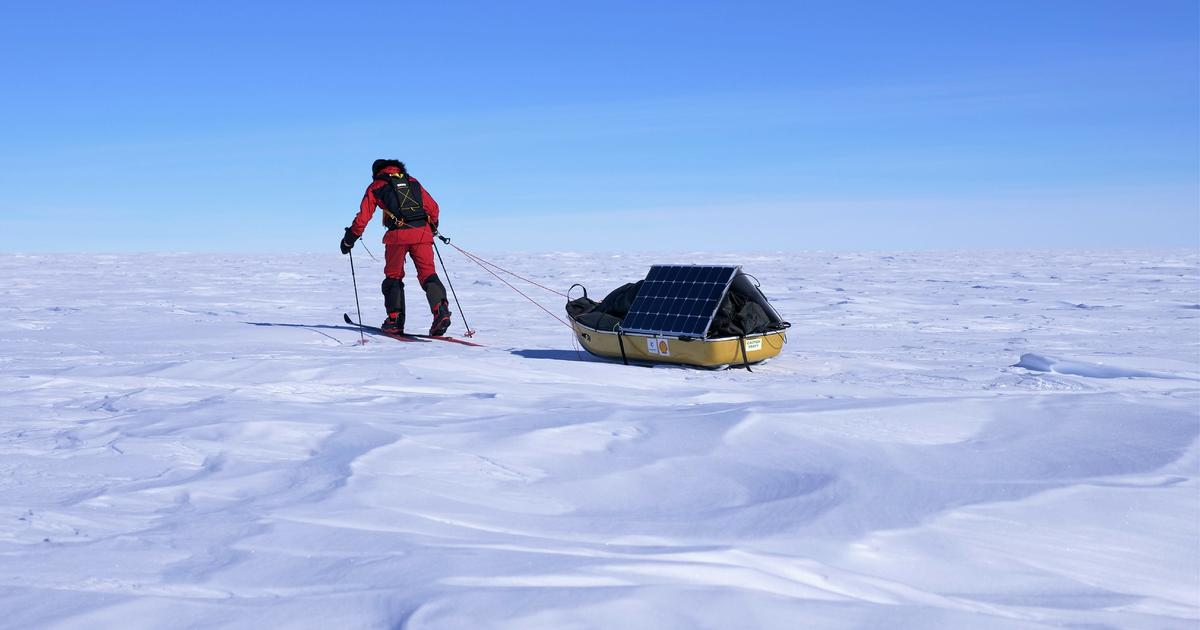 How these explorers survived 56 days in Antarctica using only clean