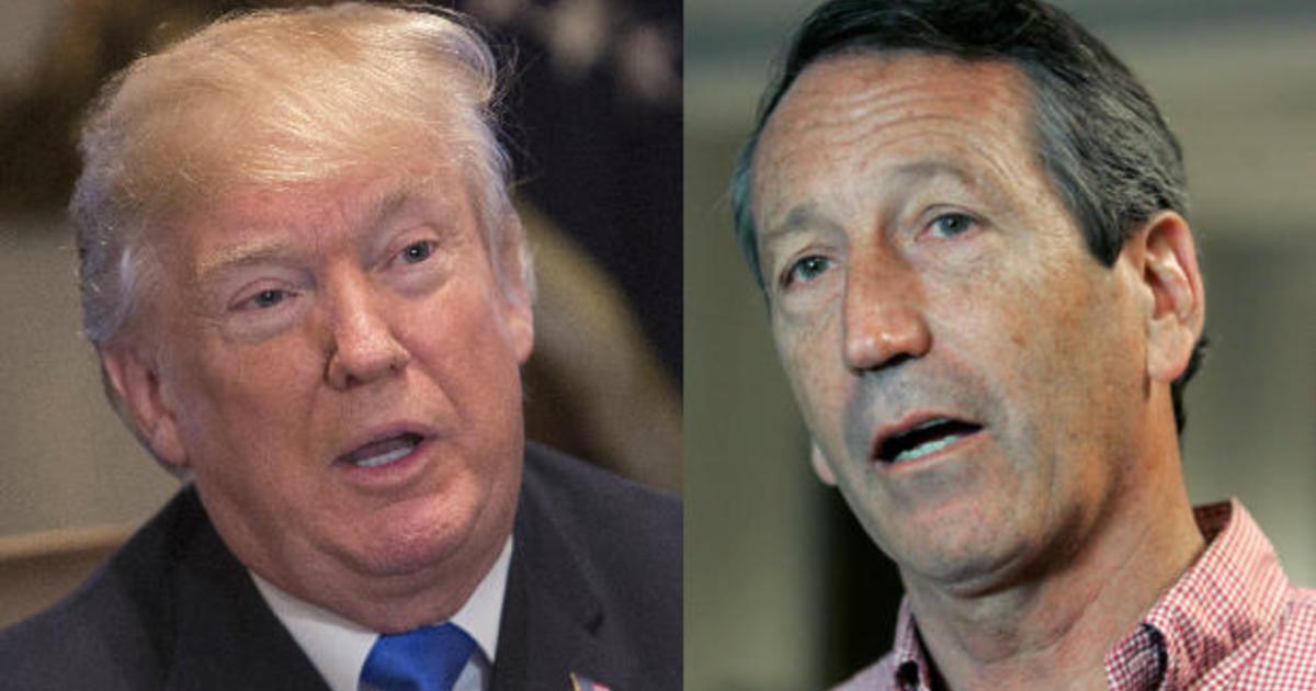 Trump calls Rep. Mark Sanford a