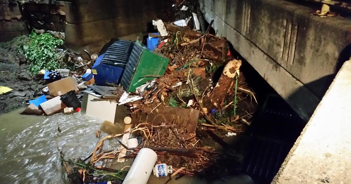 Heavy rains spur flooding, havoc in western Pennsylvania