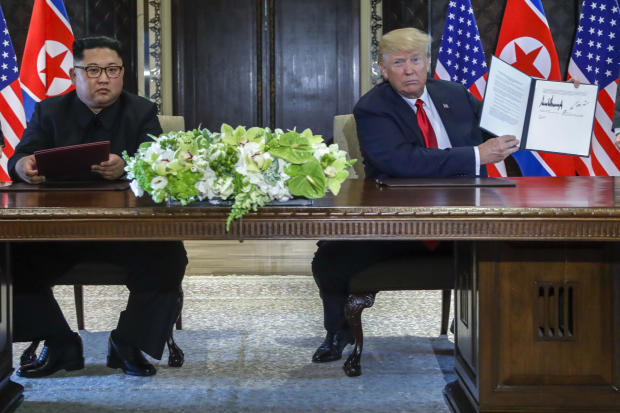 Trump Kim Summit Remains