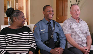 """It was meant to happen"": Routine traffic stop leads to unlikely reunion"