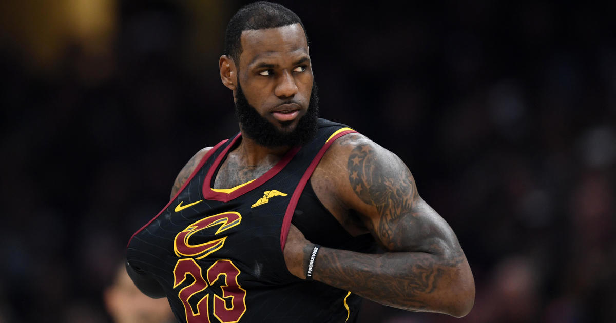 69b132da2ca LeBron James: Lakers land 4-year, $154 million contract today, management  company says; LeBron James jersey number 23 for Lakers currently assigned  to Gary ...