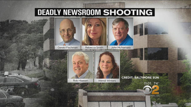 Five people who were killed in Maryland shooting