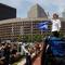 "U.S. Senator Elizabeth Warren (D-MA) speaks during the ""Families Belong Together"" rally in Boston"
