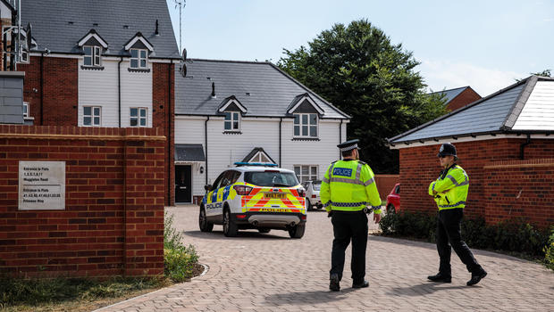 United Kingdom  police hunt for source of Novichok