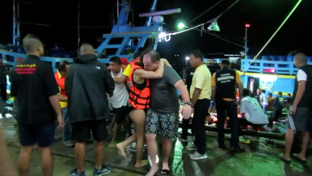 Thailand Boat Accident Death Toll Climbs to 33