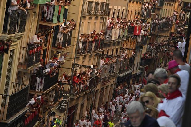 Spain Running of the Bulls