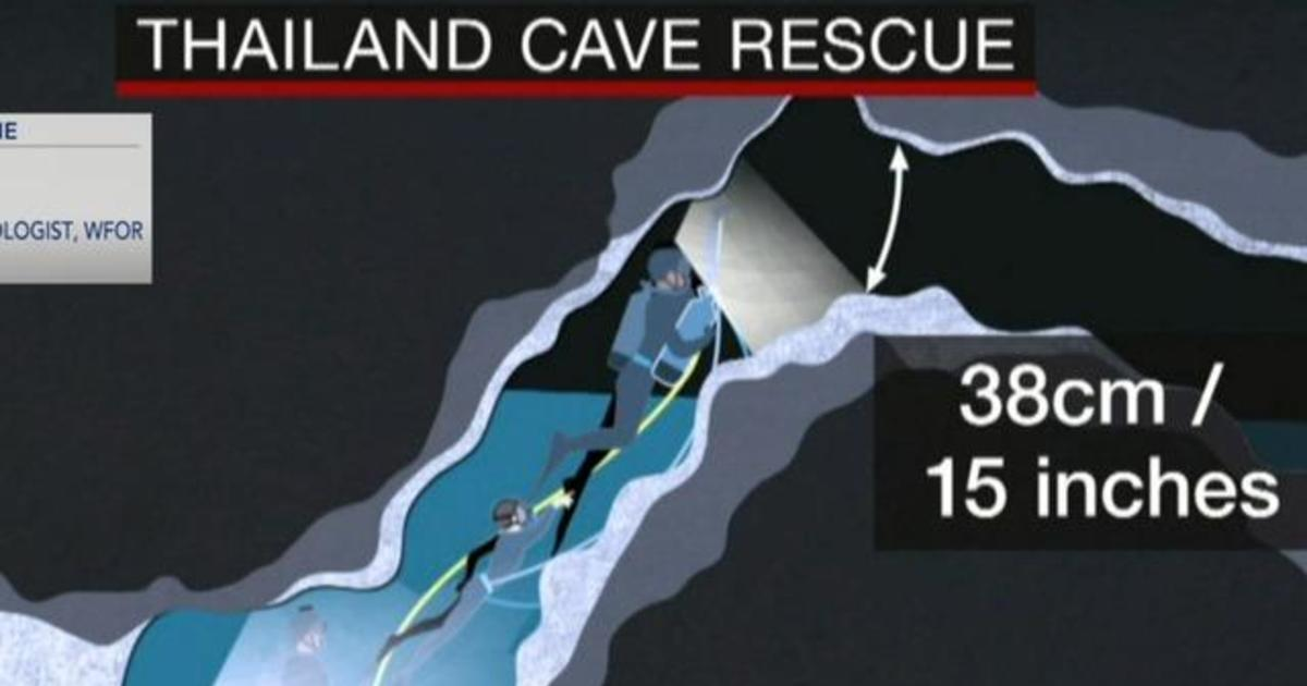 heavy rains could change the conditions in thai cave