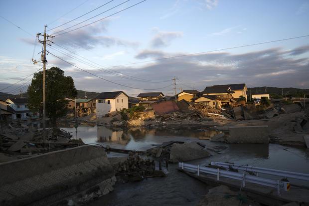 Historic Heavy Rain And Landslides Hit Japan