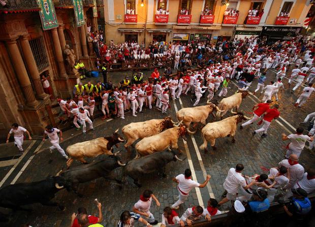 San Fermin festival in Pamplona