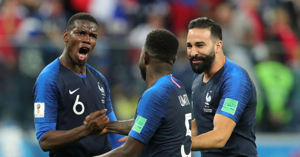 France advances to World Cup final, defeats Belgium 1-0