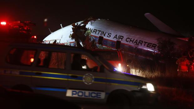 South Africa Charter Plane Crashes Near Pretoria Leaving 1 Dead 20