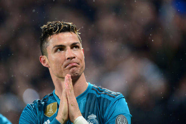 FILE PHOTO: Real Madrid's Cristiano Ronaldo at Allianz Stadium, Turin, Italy - April 3, 2018