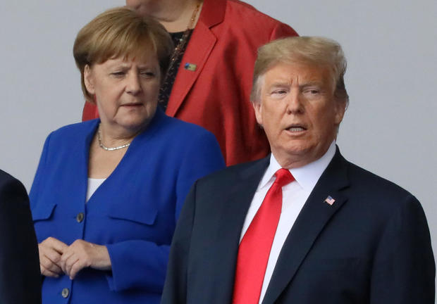 Trump blasts Germany at North Atlantic Treaty Organisation summit over gas pipeline deal with Russian Federation