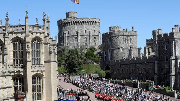 Donald Trump meets Britain's Queen Elizabeth at Windsor Castle