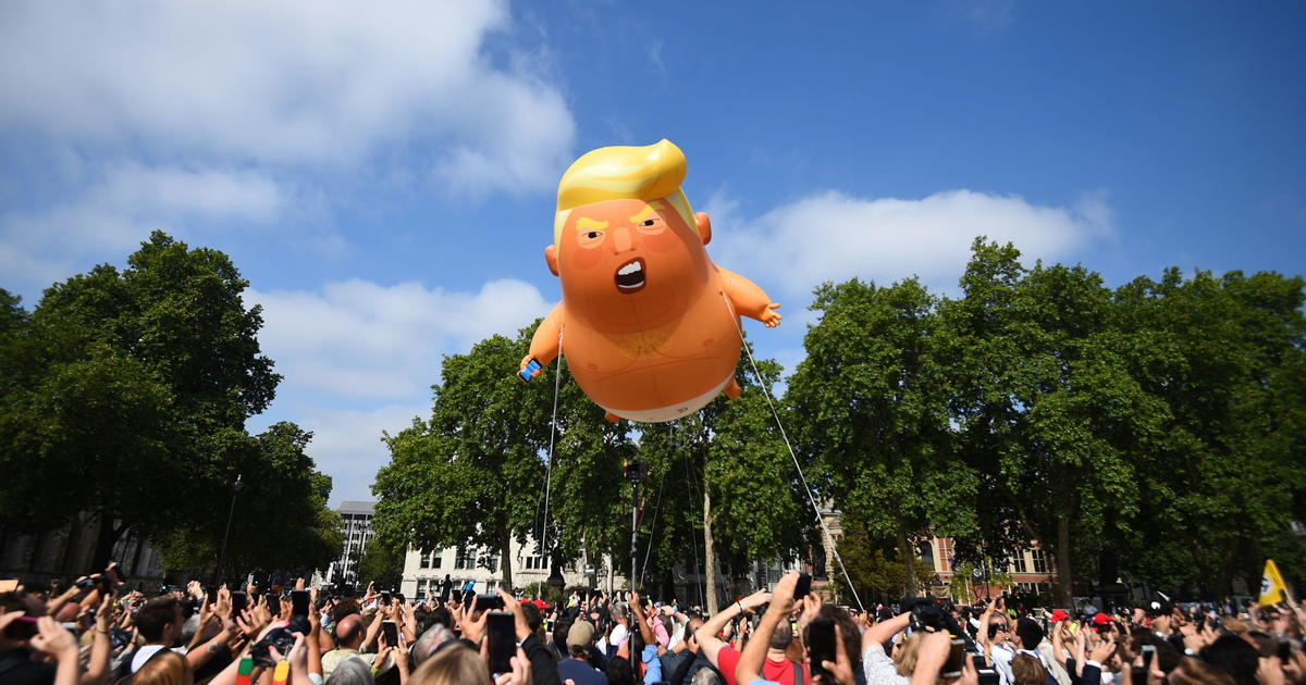 Image result for baby trump balloon