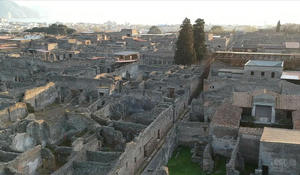 Pompeii excavation project reveals secrets on life before volcanic eruption