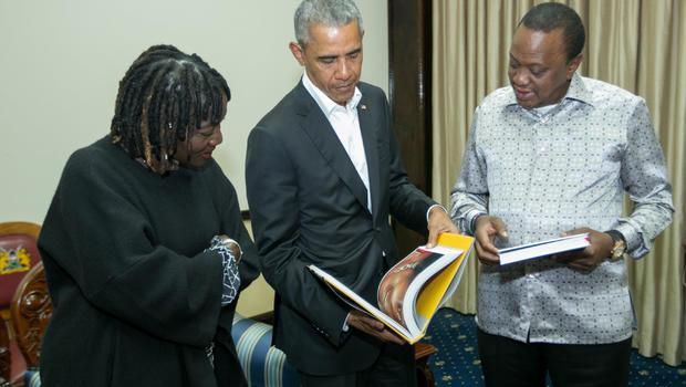 Barack Obama in Kenya for 1st time post-presidency - CBS News