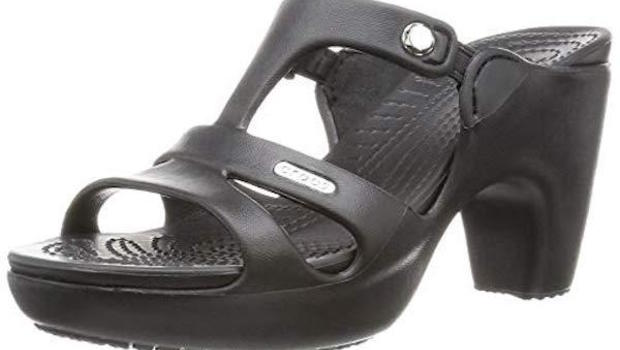 high heel crocs shoes are selling out prompting questions of why