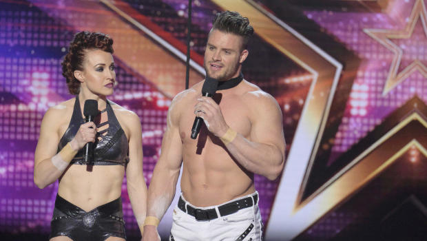 Blind trapeze act goes horribly wrong on 'America's Got Talent'