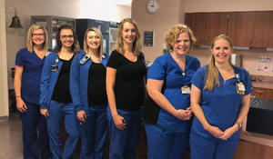 Six nurses in same hospital unit find out they're pregnant