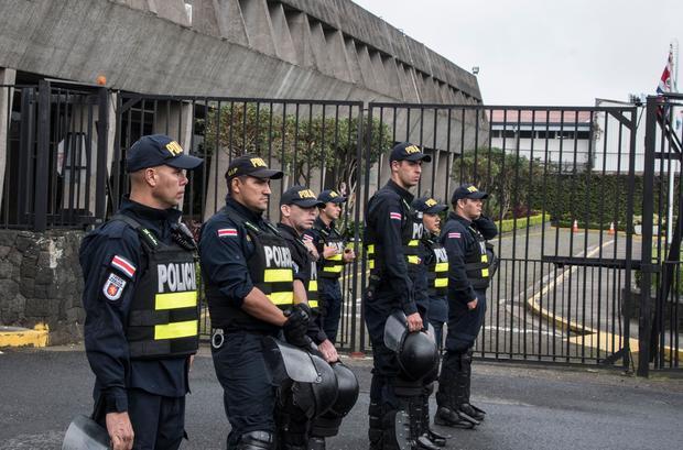COSTA RICA-UBER-PROTEST