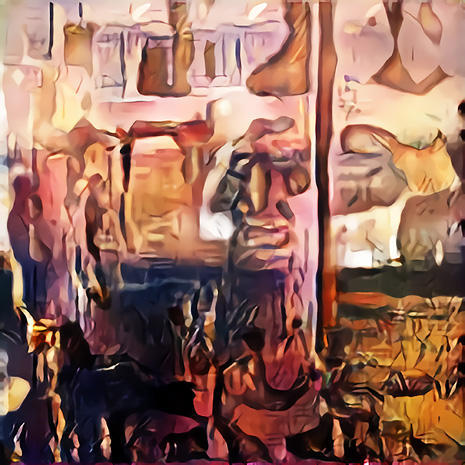 Art created by artificial intelligence