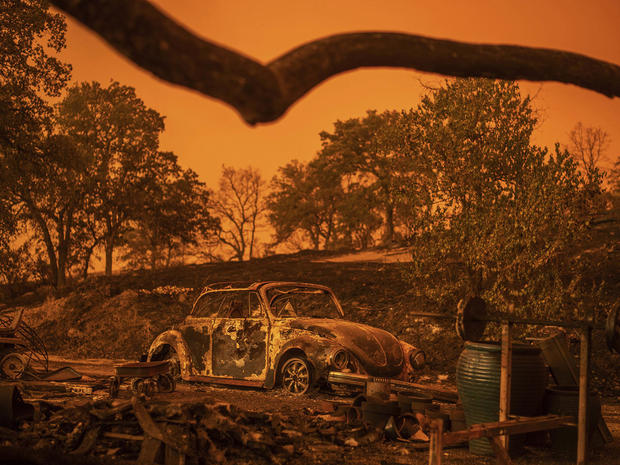 California wildfire claims lives of great-grandmother, two children and firefighters