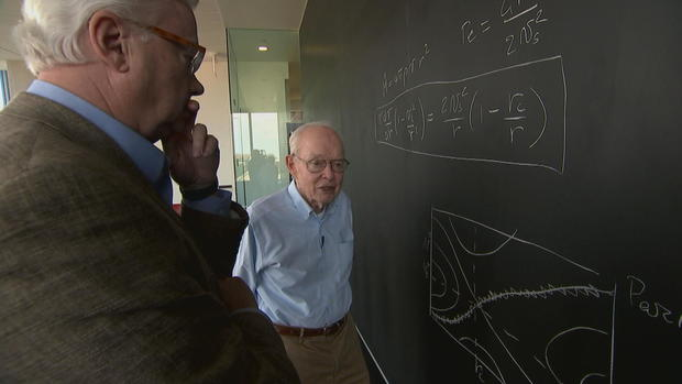 Eugene Parker at the University of Chicago               CBS News