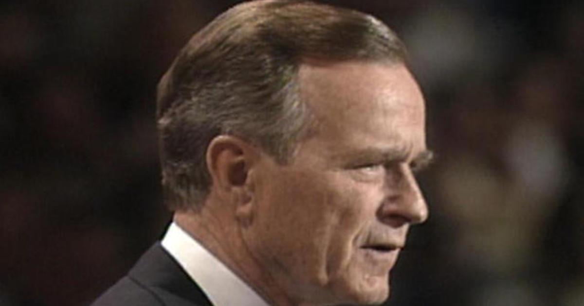 1992: George H.W. Bush delivers nomination acceptance speech