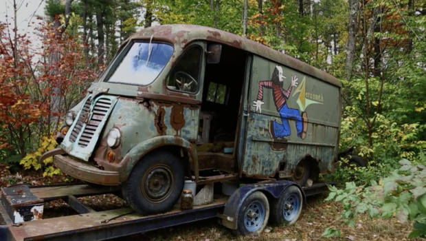 Aerosmith tour van found in woods in Chesterfield, Massachusetts