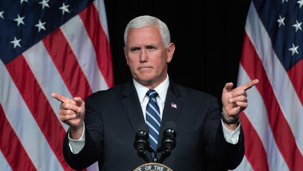 Mike Pence, space force announcement